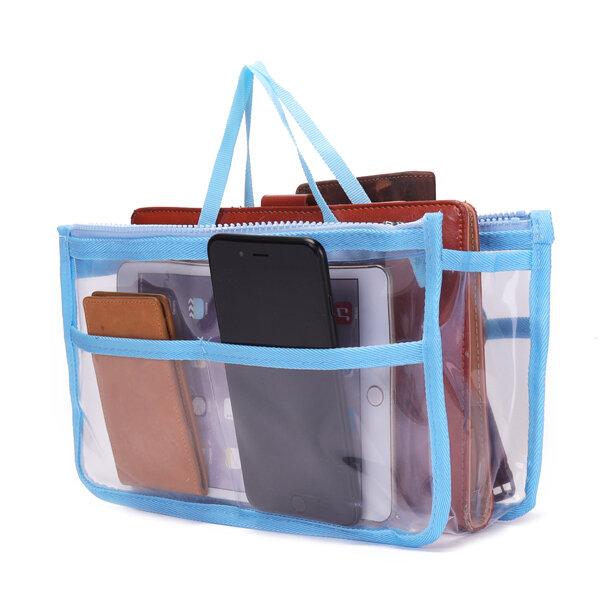 Transparent Large-capacity Travel Organizer Portable Cosmetic Bag