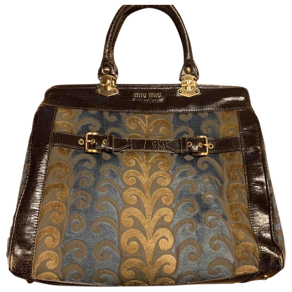 Miu Miu \N Handtasche in Leinen