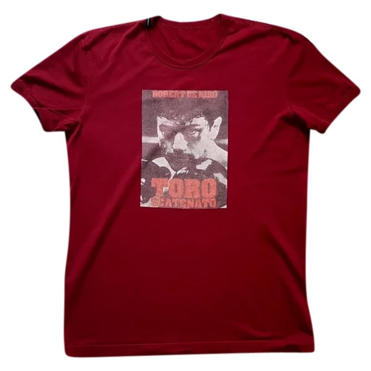 D&g - Tee shirts   pour homme en coton - rouge