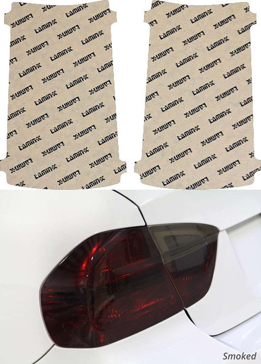 GMC Savana Van 04-16 Smoked Tail Light Covers Lamin-X G215S