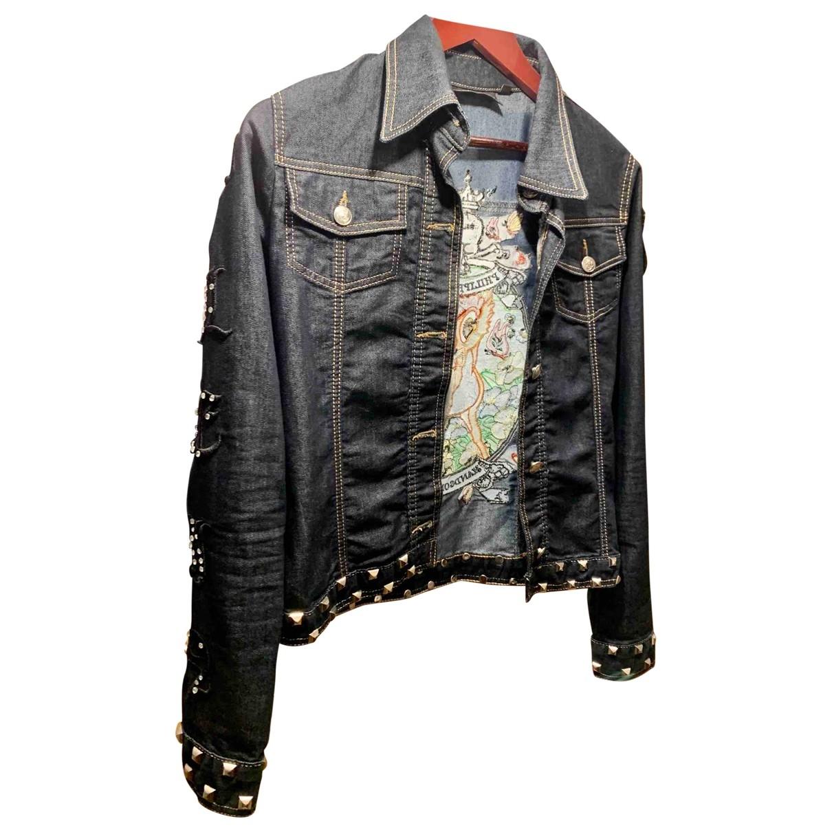 Philipp Plein \N Jacke in  Bunt Denim - Jeans