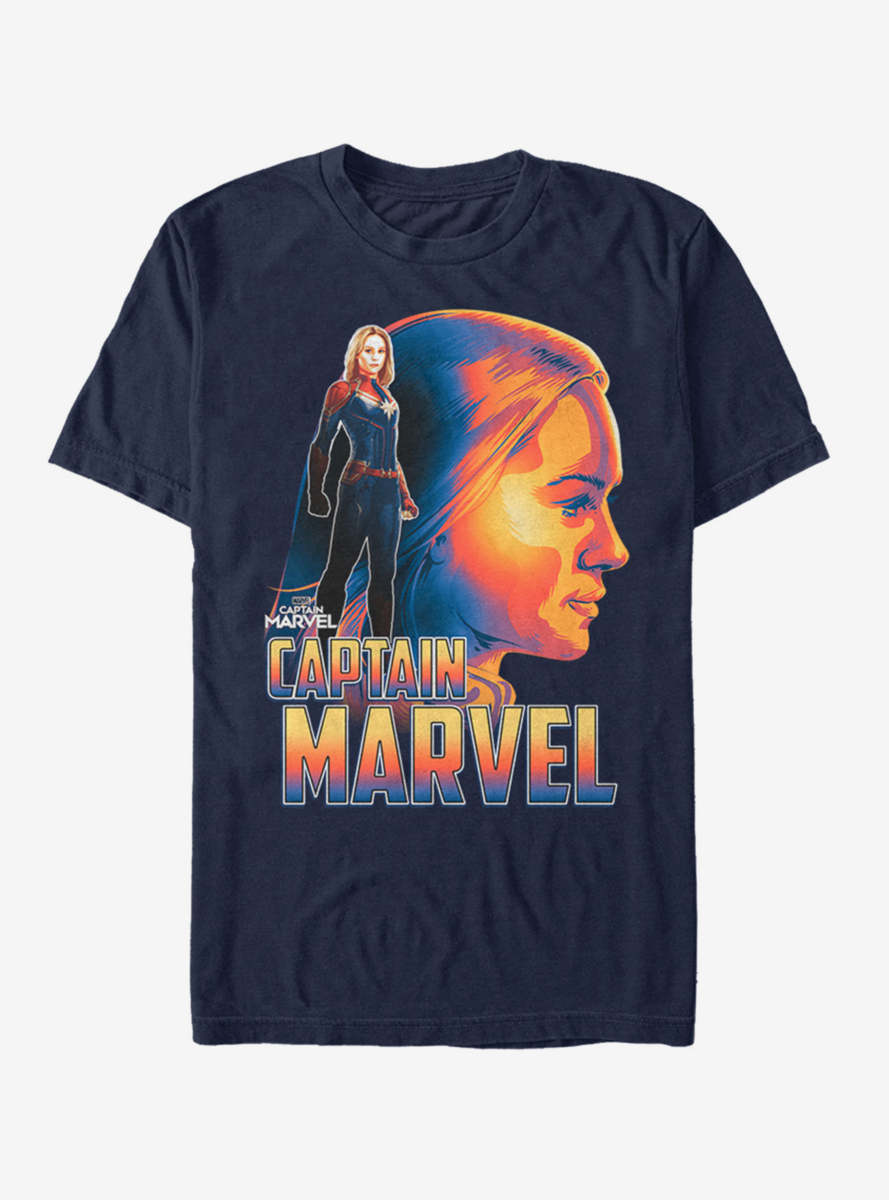 Marvel Captain Marvel Sil T-Shirt