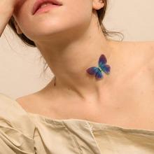Halsband mit Schmetterling Dekor 1 Stueck