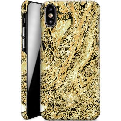 Apple iPhone X Smartphone Huelle - Marbled Sand von Amy Sia