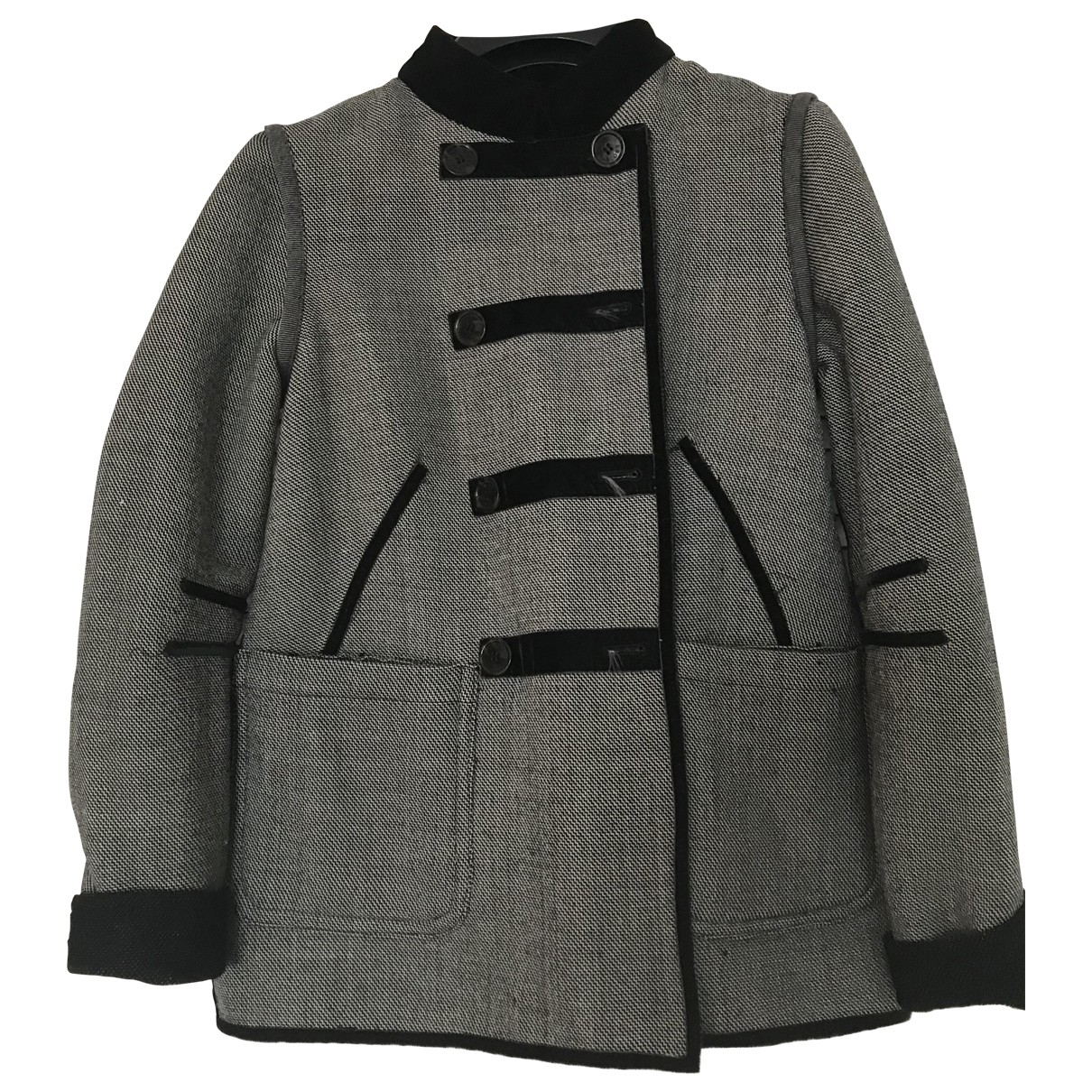 Marc By Marc Jacobs \N Grey Cotton jacket for Women 36 FR