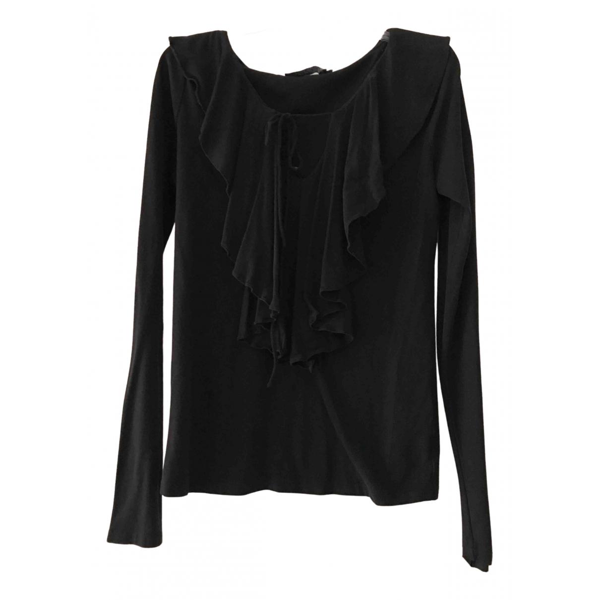 Ralph Lauren - Top   pour femme en coton - noir