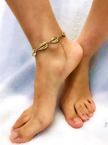 Milanoo Shell Anklet Bracelet Beach Jewelry For Women