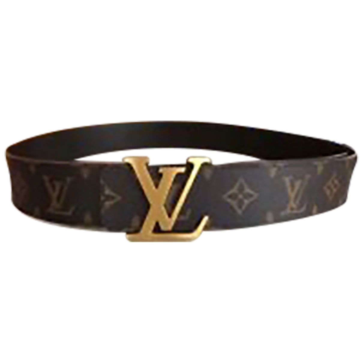 Louis Vuitton Initiales Cloth belt for Women XS International
