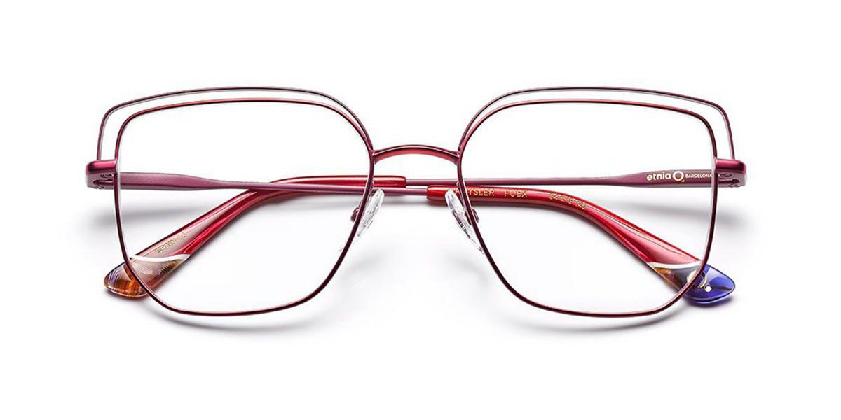 Etnia Barcelona Chrysler FUBX Women's Glasses Pink Size 54 - Free Lenses - HSA/FSA Insurance - Blue Light Block Available