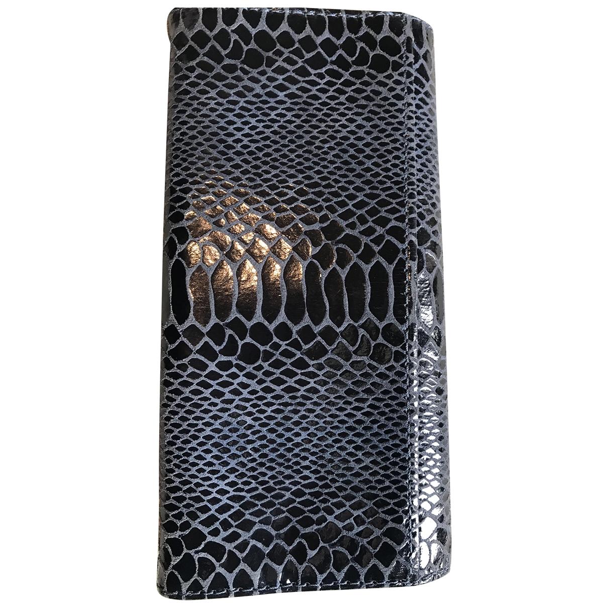 Michael Kors \N Blue Leather Purses, wallet & cases for Women \N