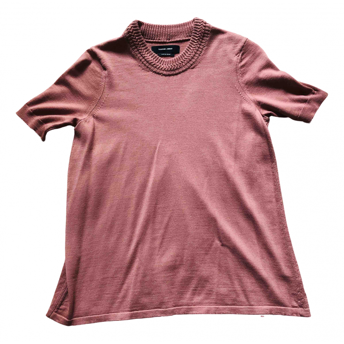 Isabel Marant - Pull   pour femme en laine - rose