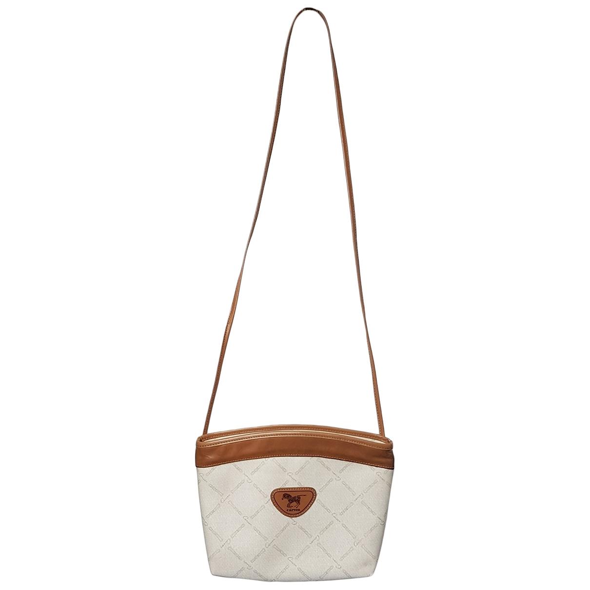 Carven \N Ecru Cloth handbag for Women \N
