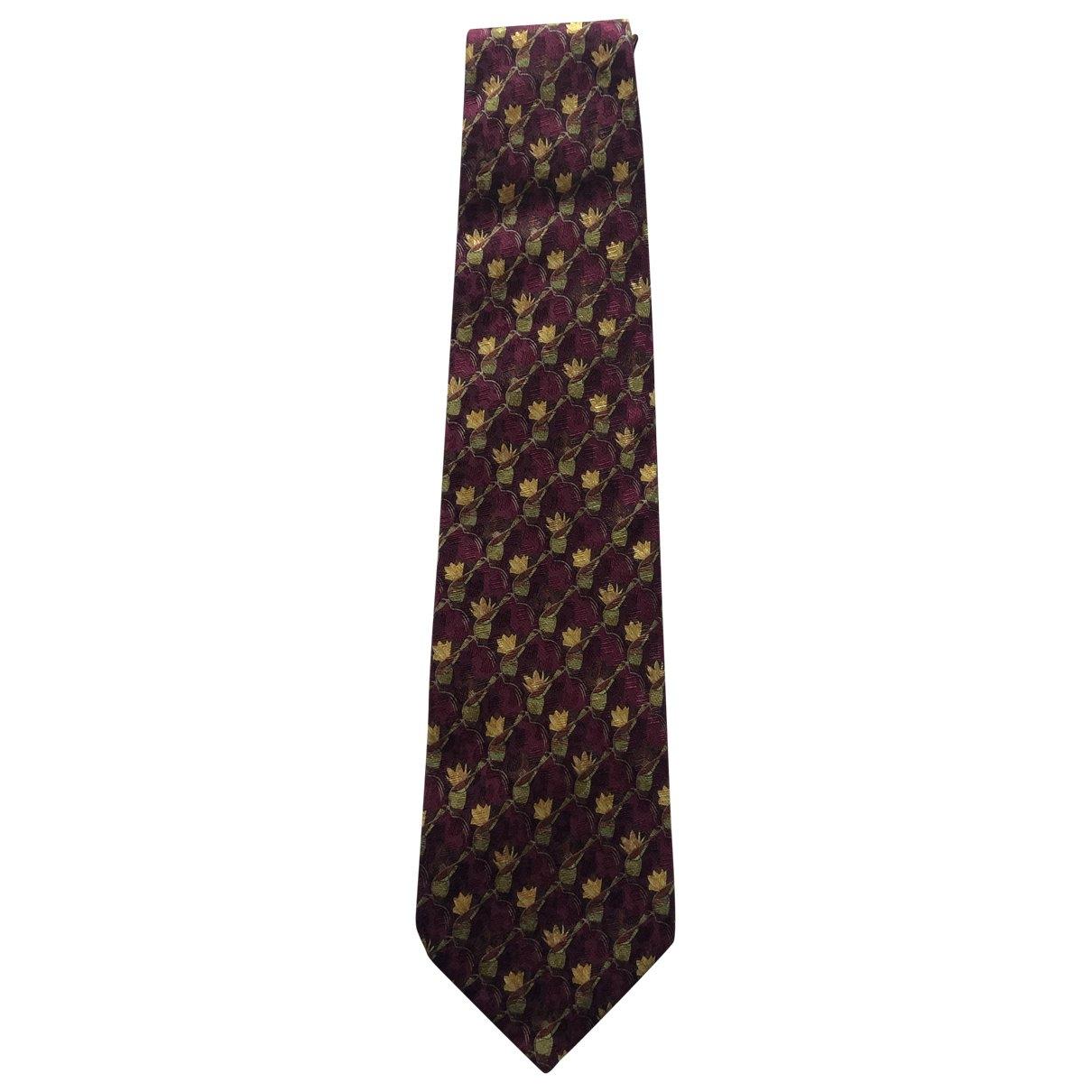 Ermenegildo Zegna - Cravates   pour homme en soie - rouge