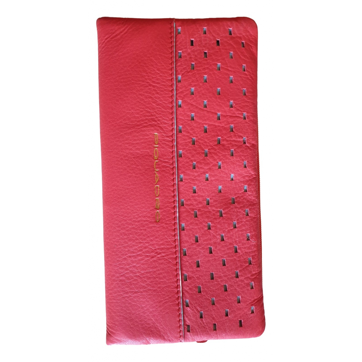 Piquadro \N Red Leather wallet for Women \N