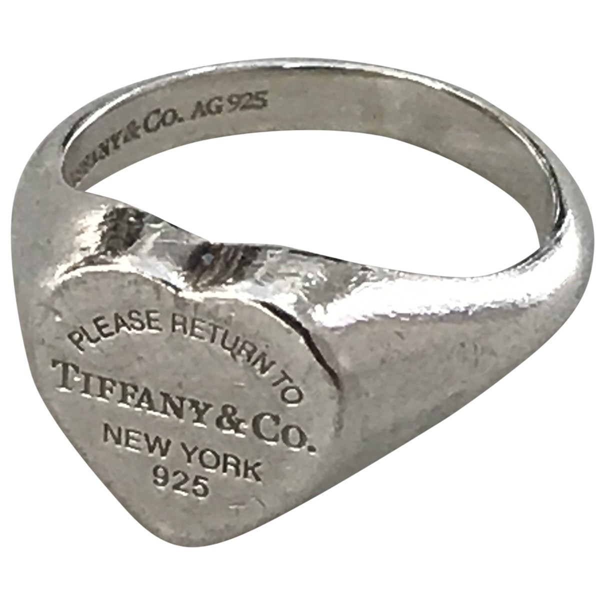 Tiffany & Co Return to Tiffany Ring in  Silber Silber