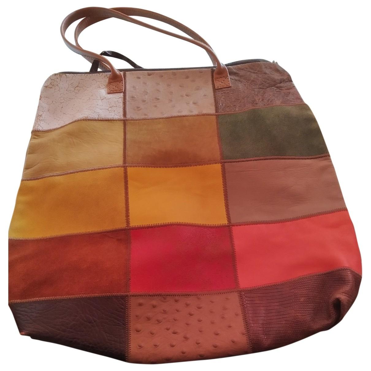 Maliparmi \N Handtasche in  Bunt Leder