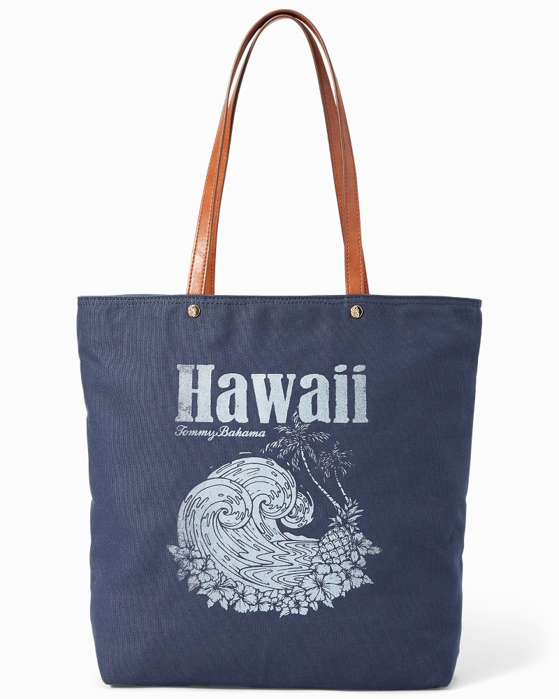 Hawaiian Wave Tote