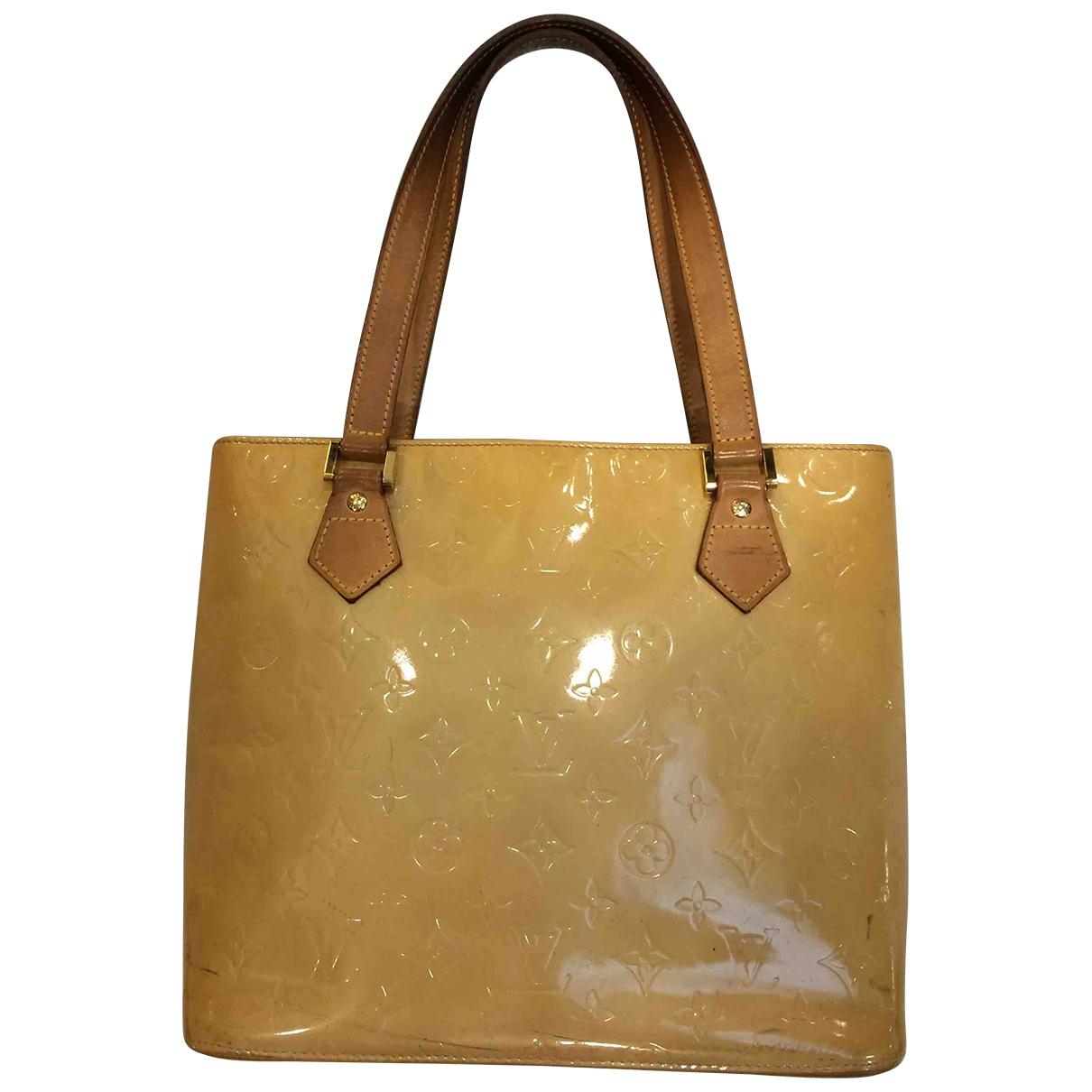 Louis Vuitton \N Handtasche in Lackleder