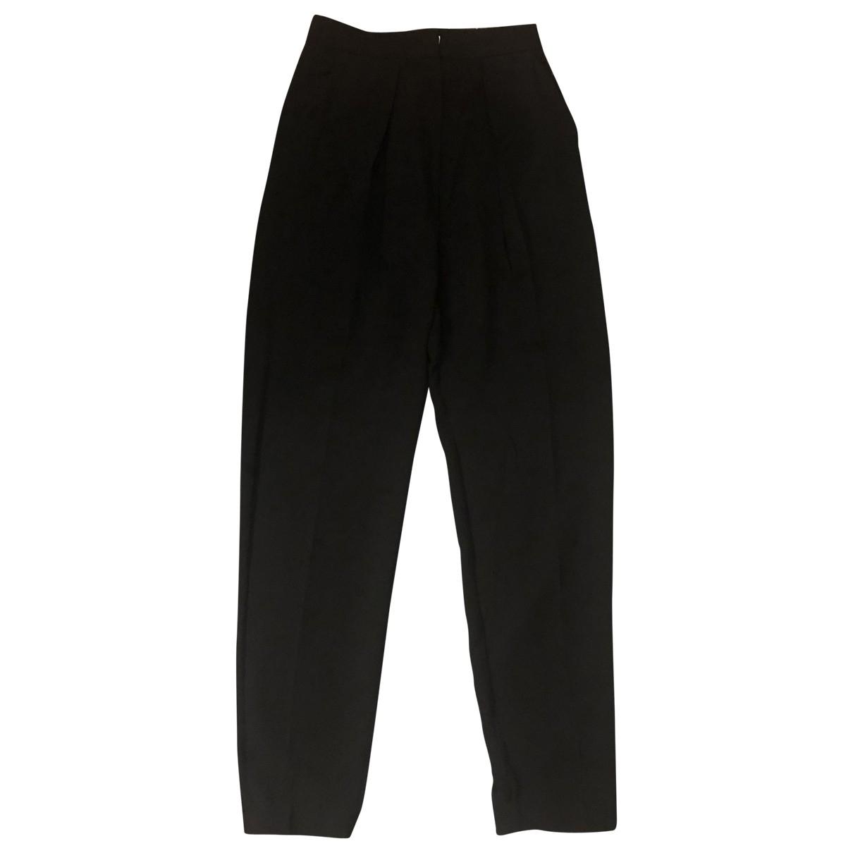 Joseph \N Black Trousers for Women 34 FR