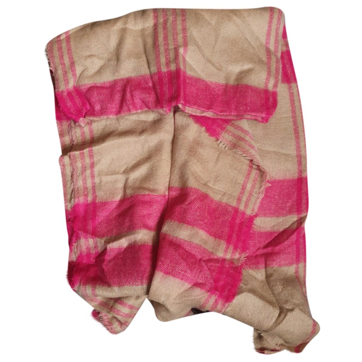 Zara - Foulard   pour femme en coton - beige