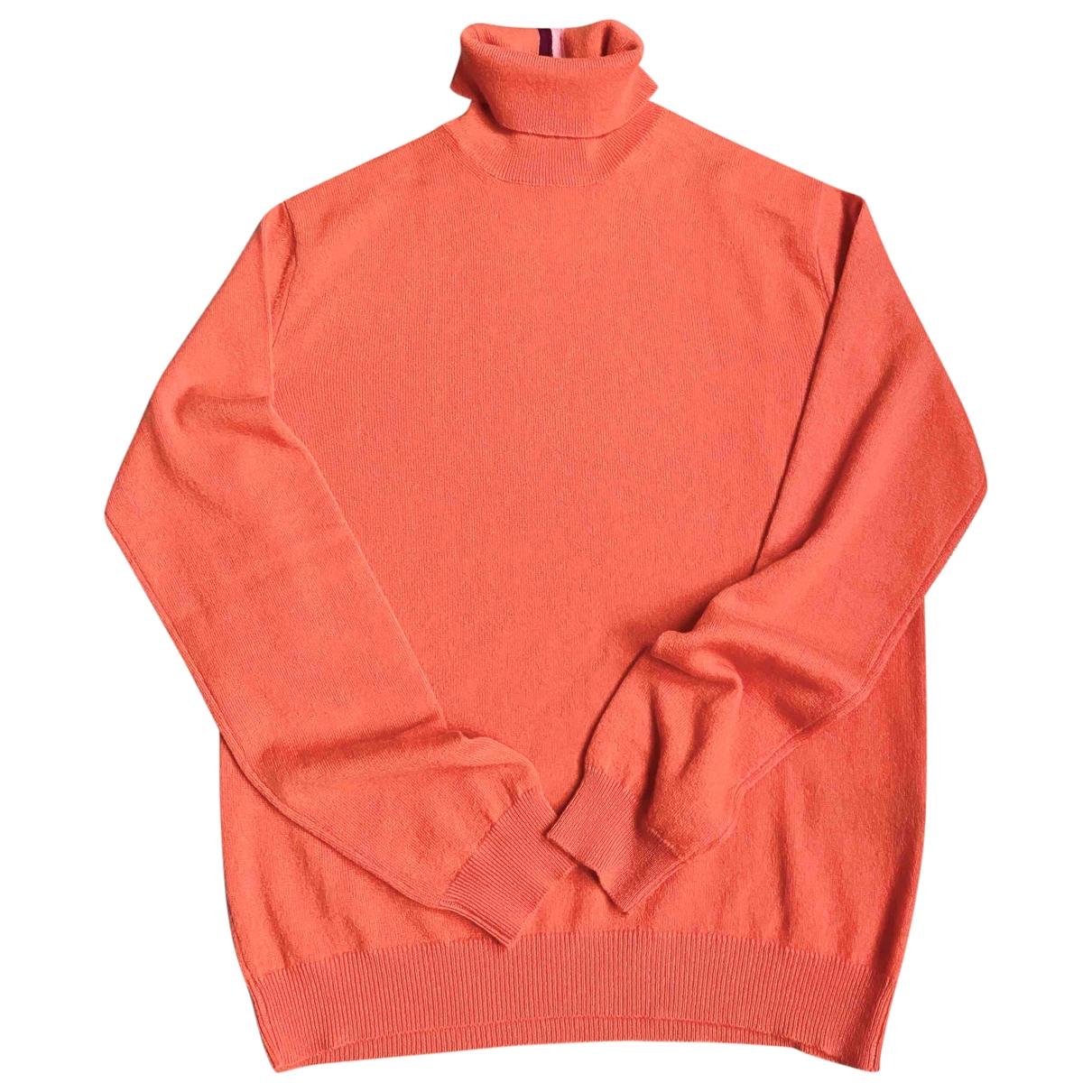 Paul Smith - Pull   pour femme en cachemire - orange