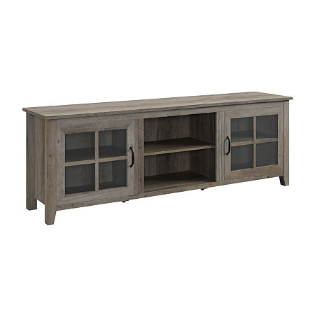 Walker Edison Modern TV Stand, One Size , Gray