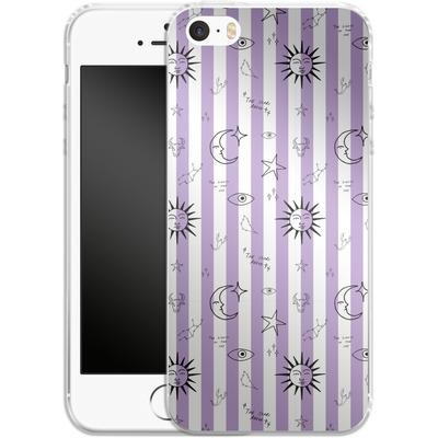 Apple iPhone 5s Silikon Handyhuelle - Optical Zodiac von caseable Designs