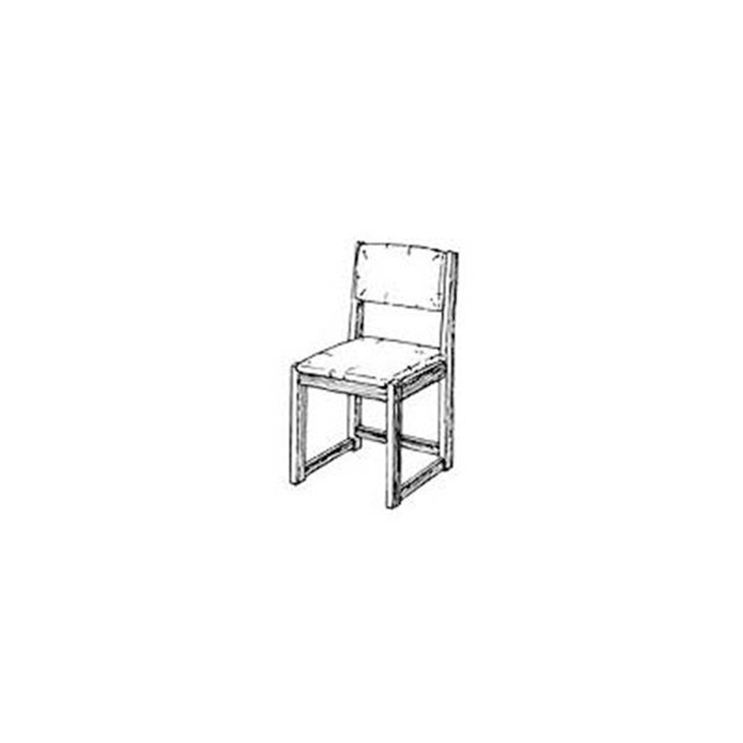 Woodworking Project Paper Plan to Build Simple Side Chair