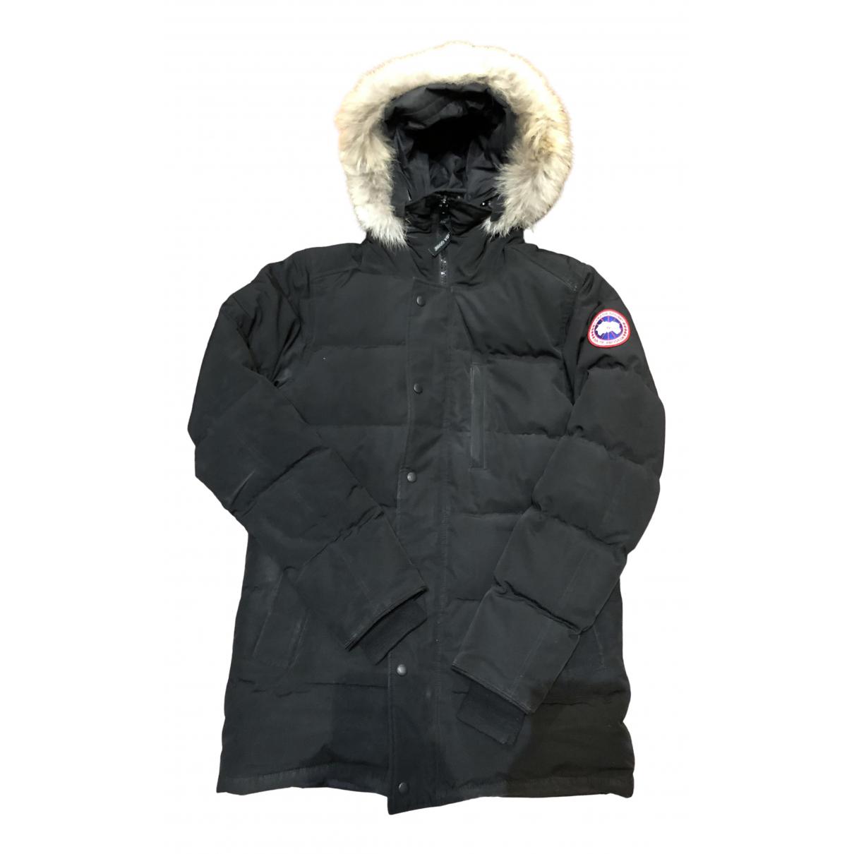 Canada Goose - Manteau   pour homme en coton - noir