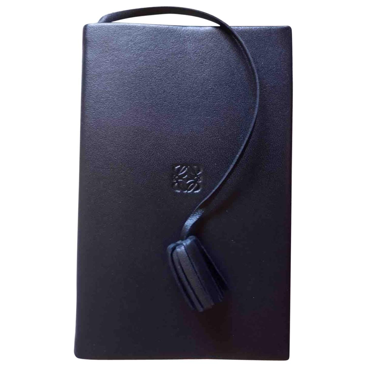 Loewe - Objets & Deco   pour lifestyle en cuir - noir