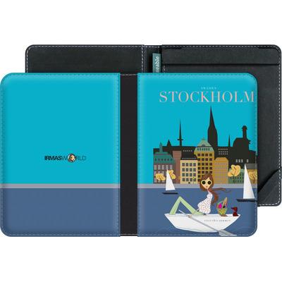 tolino vision 4 HD eBook Reader Huelle - STOCKHOLM TRAVEL POSTER von IRMA