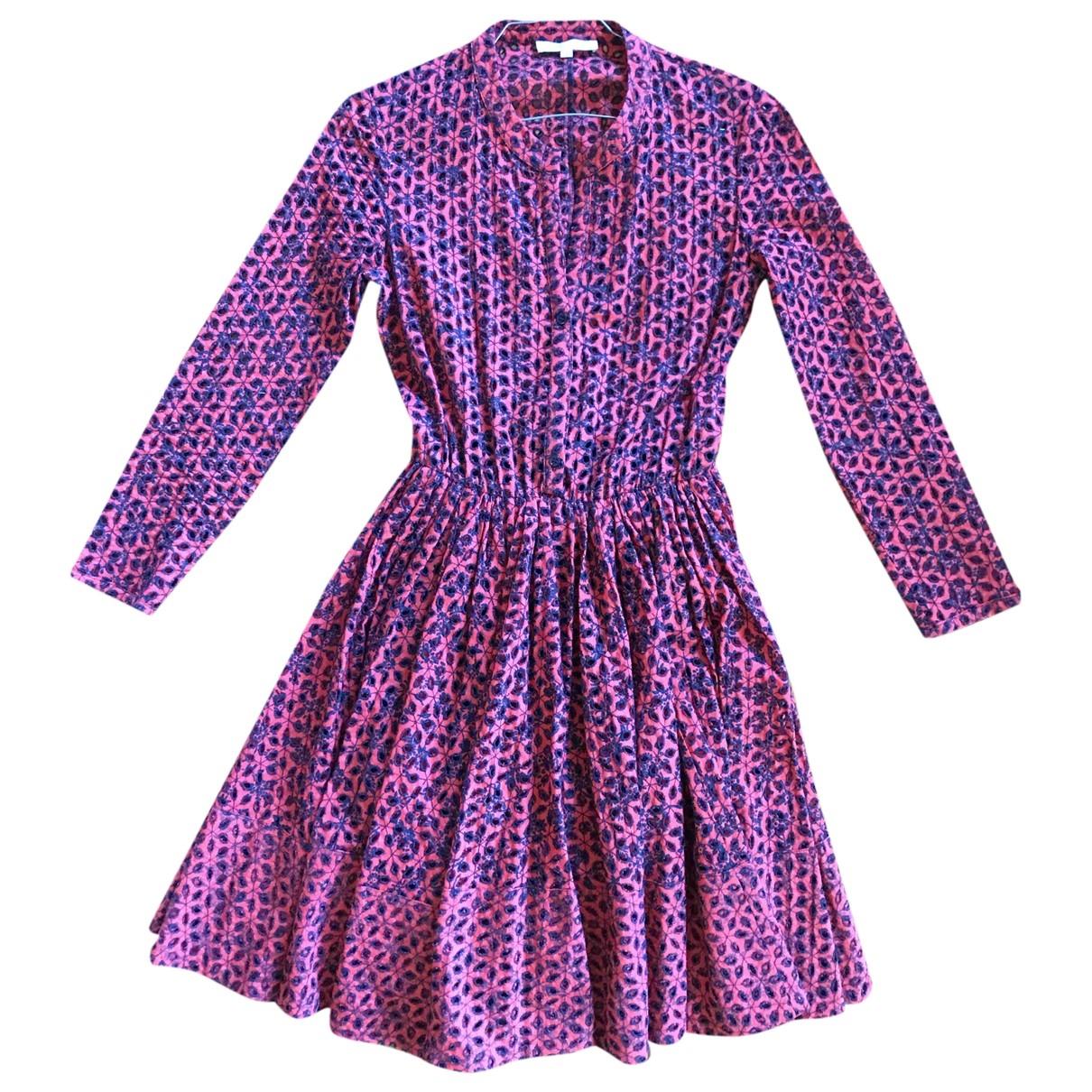Maje \N Kleid in Baumwolle