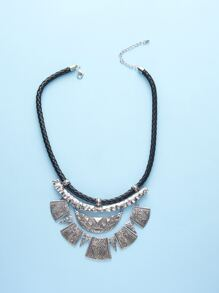 Geometric Charm Necklace