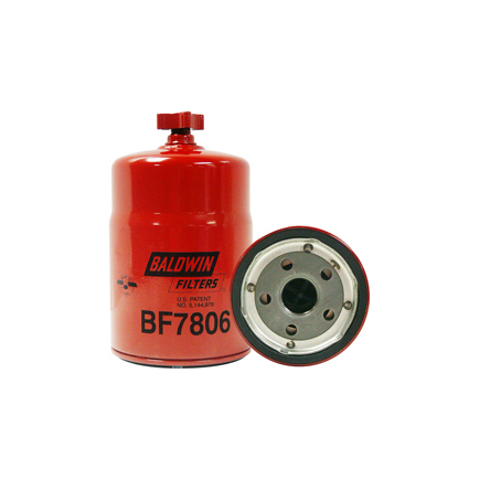 Baldwin BF7806 - Fuel Water Separator Filter, For Caterpillar, Ford