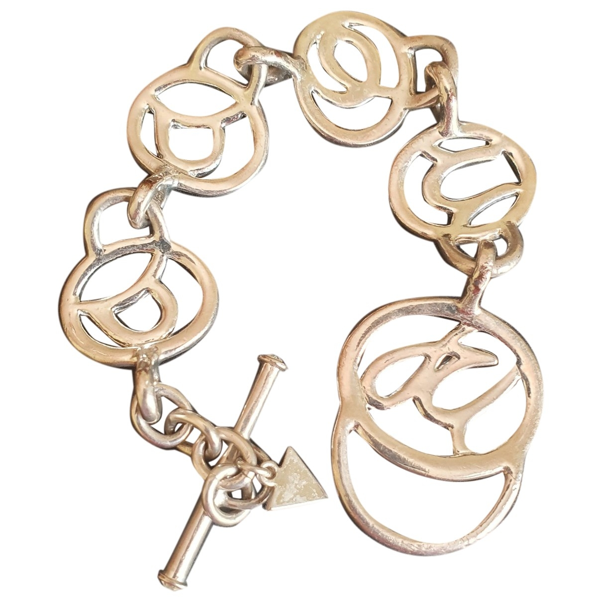 Guess \N Armband in  Silber Silber