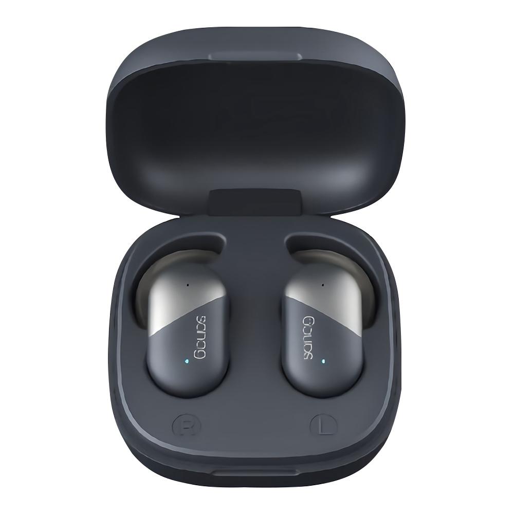Sanag P5 Fingerprint Touch Bluetooth 5.0 TWS Earphones IPX56 Binaural Call Siri Google Assistant 500mAh Charging Case