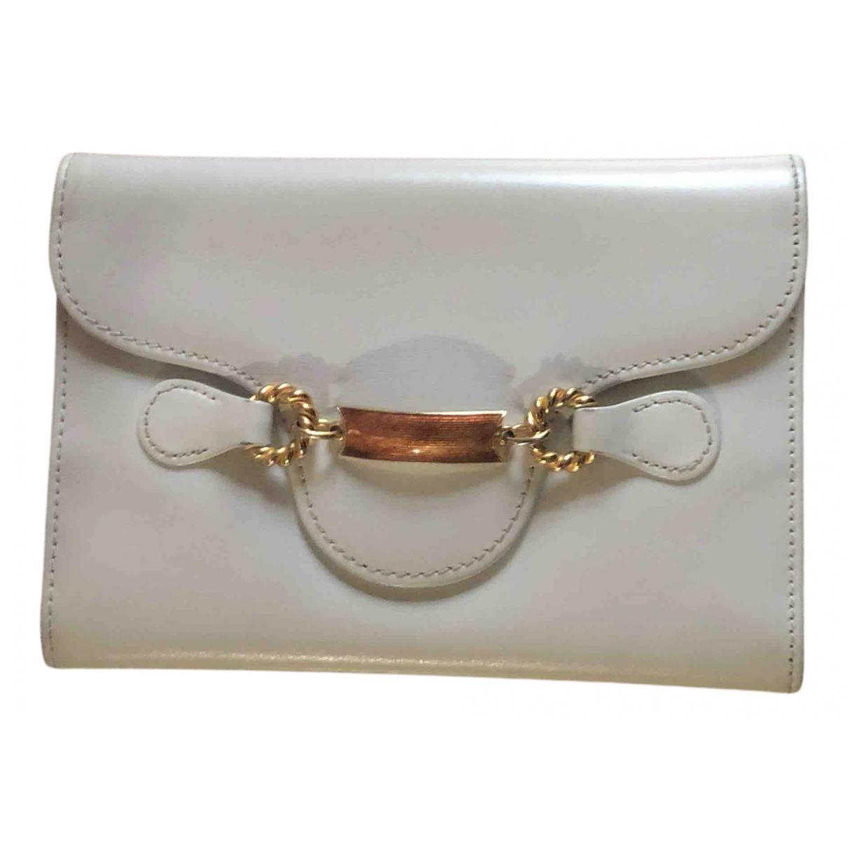 Gucci - Portefeuille   pour femme en cuir - blanc