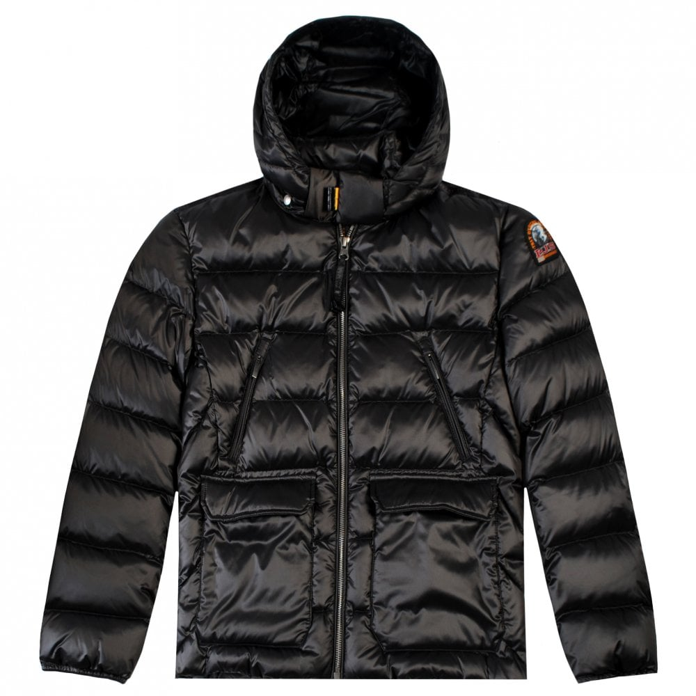 Parajumpers Kids Greg Puffa Jacket Size: YOUNG SMALL, Colour: DARK GREY