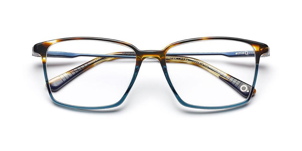 Etnia Barcelona Walter HVBL Men's Glasses Blue Size 54 - Free Lenses - HSA/FSA Insurance - Blue Light Block Available