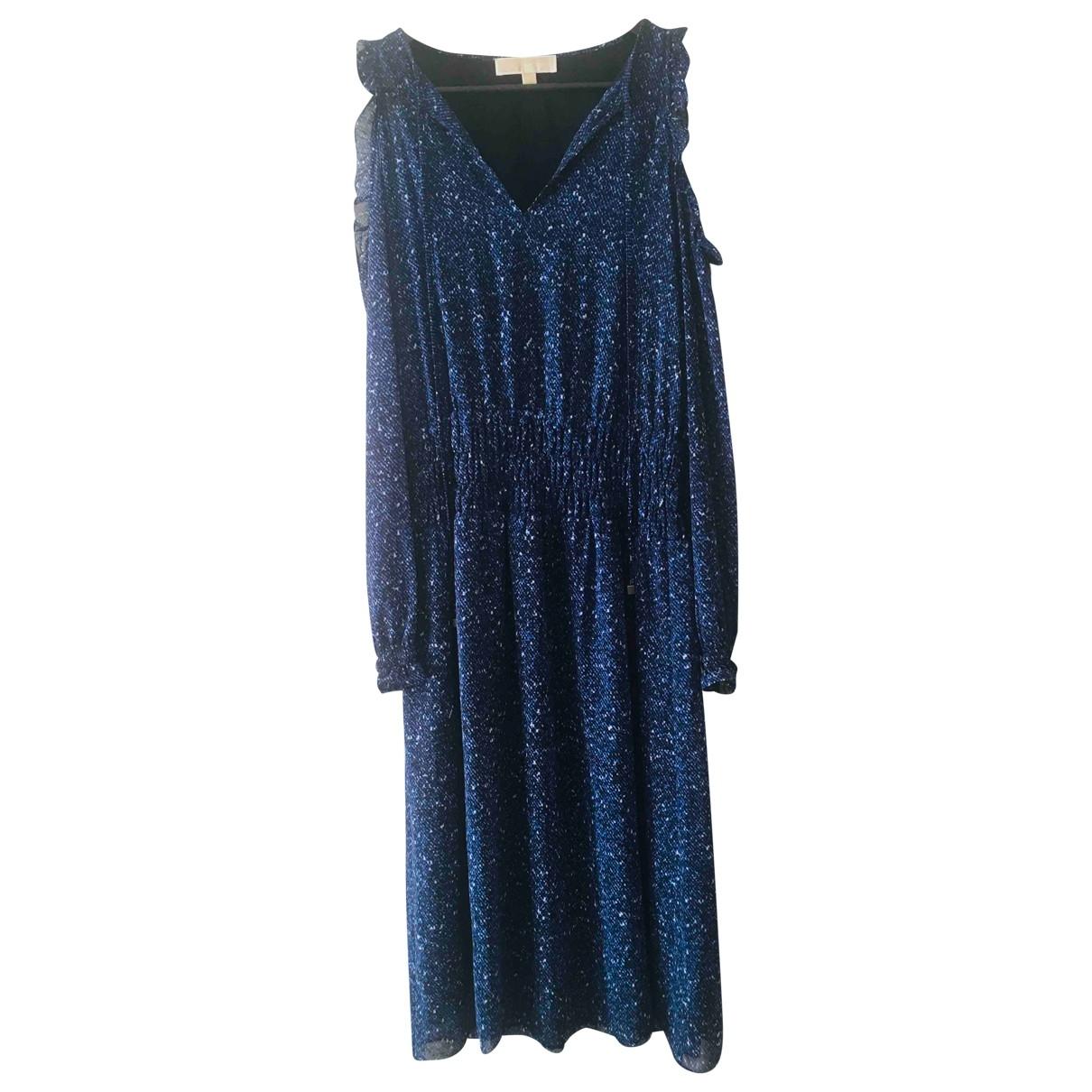 Michael Kors \N Kleid in  Blau Mit Pailletten
