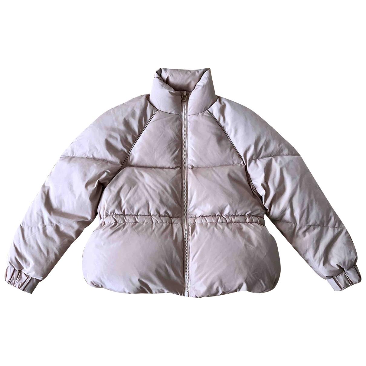 Ganni \N Pink coat for Women 34 FR