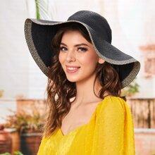 Tassel Decor Straw Hat