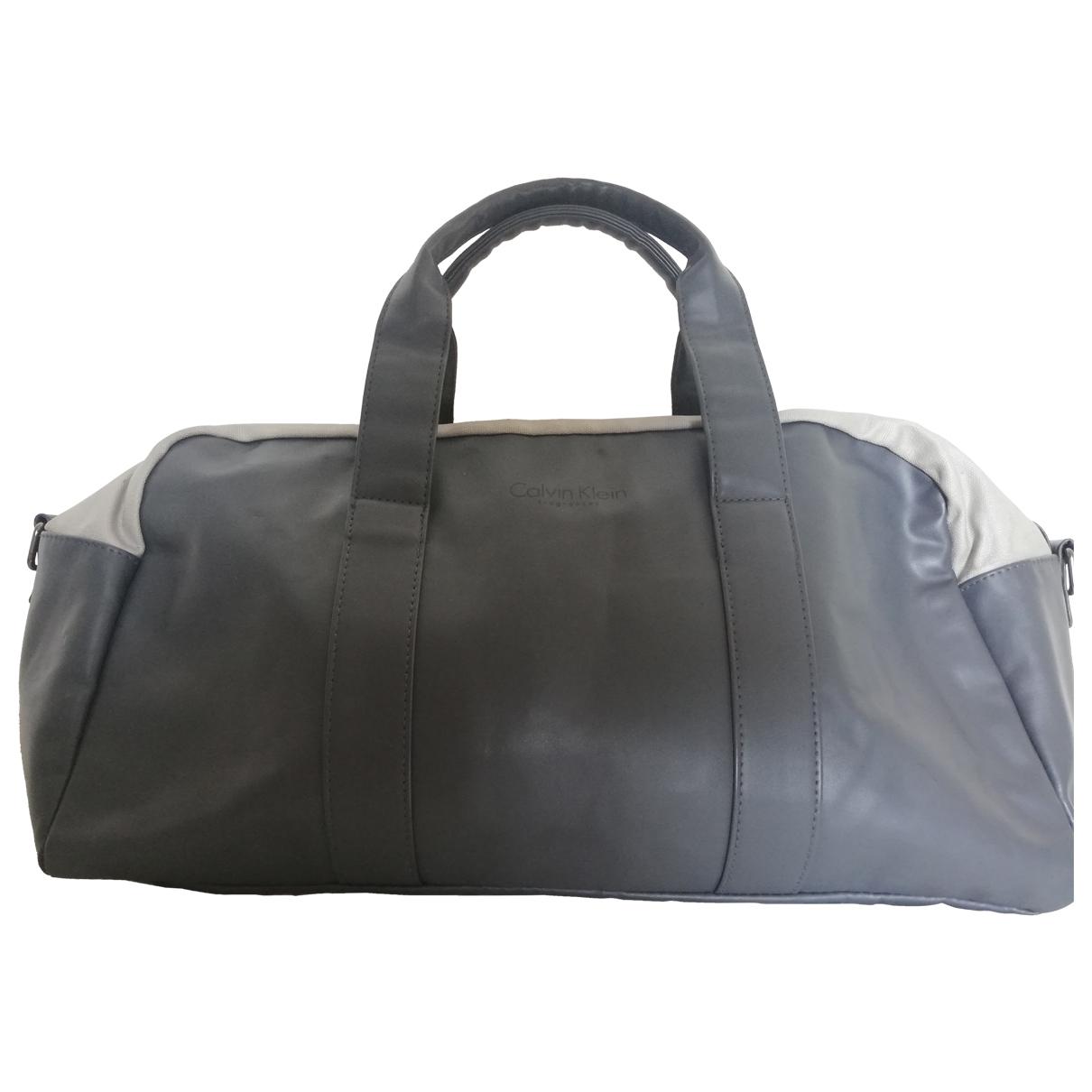 Calvin Klein \N Grey bag for Men \N