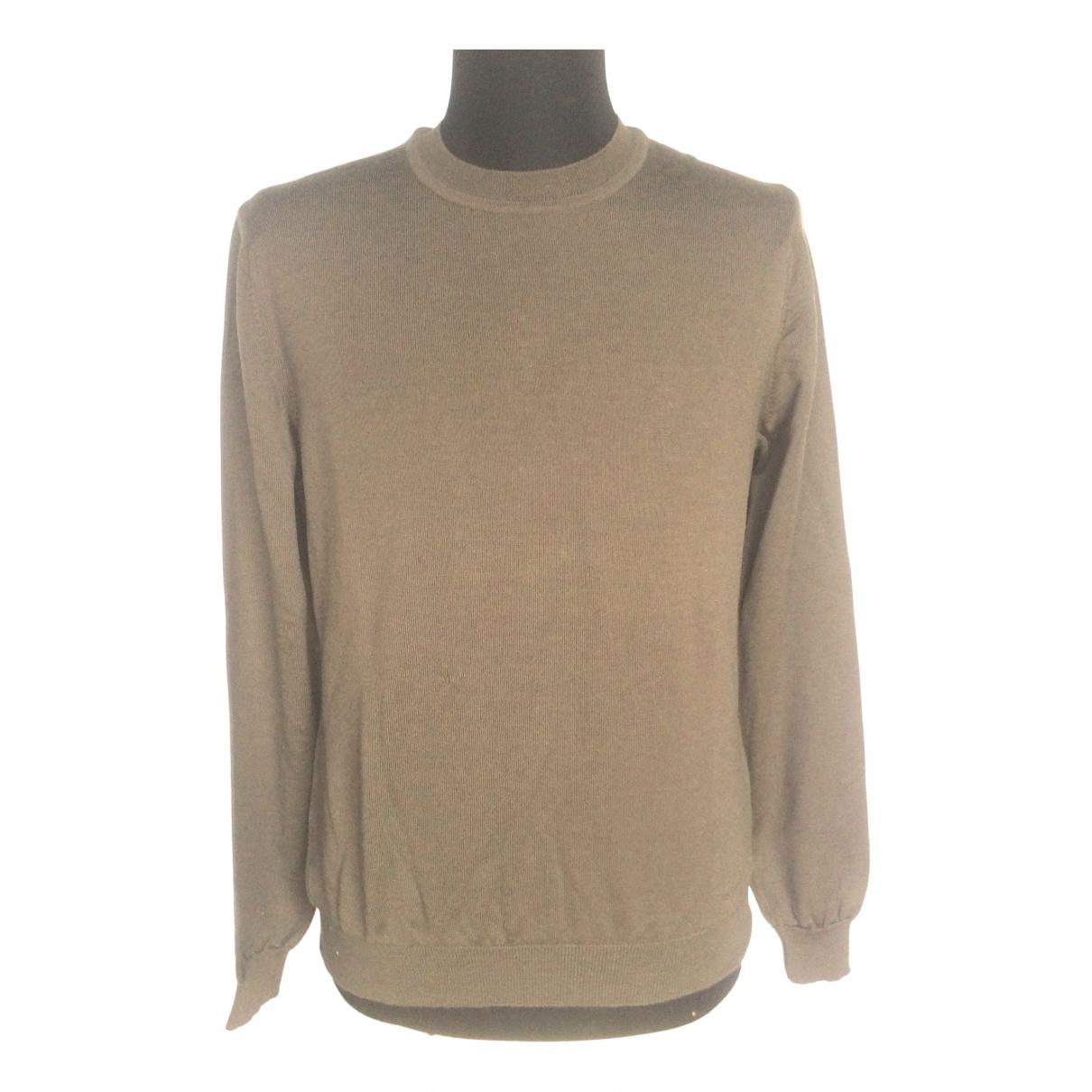 Calvin Klein - Pulls.Gilets.Sweats   pour homme en laine - marron