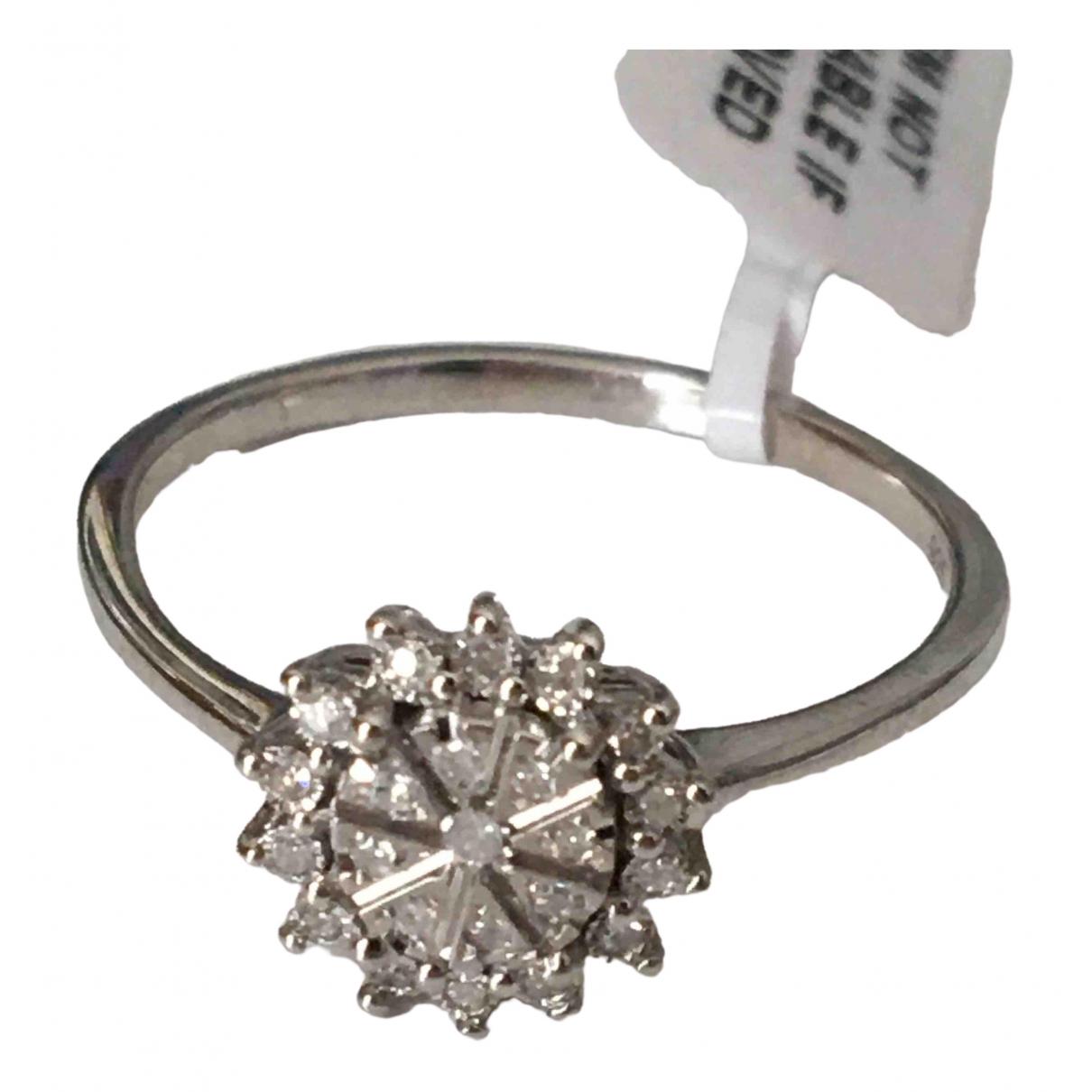 Non Signé / Unsigned \N Silver Silver Gilt ring for Women 60 EU