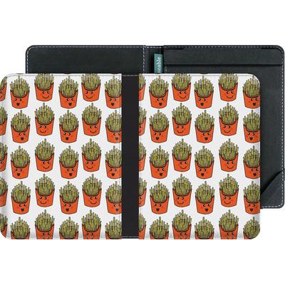 tolino vision 4 HD eBook Reader Huelle - Happy Fries  von caseable Designs