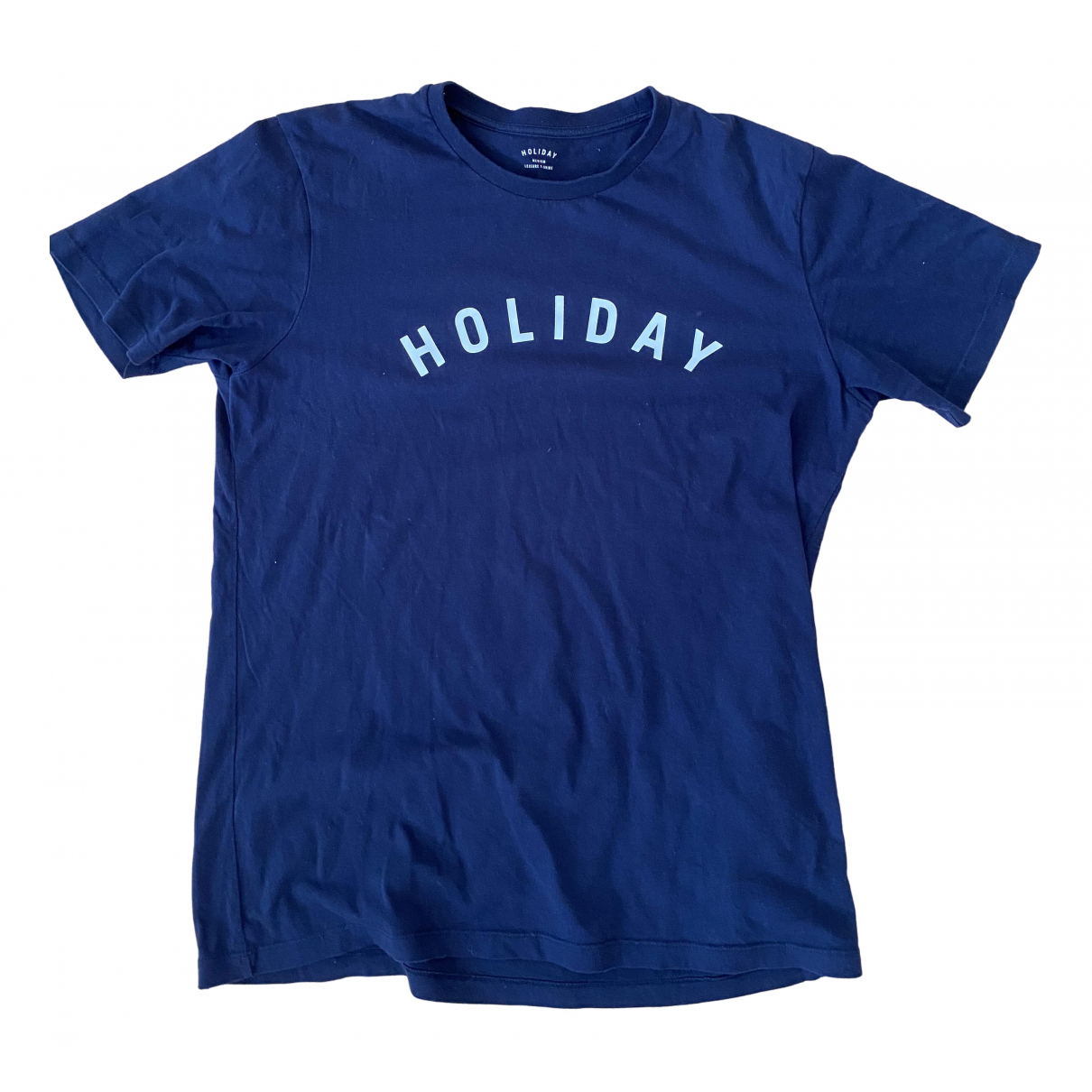 Holiday \N T-Shirts in  Marine Baumwolle
