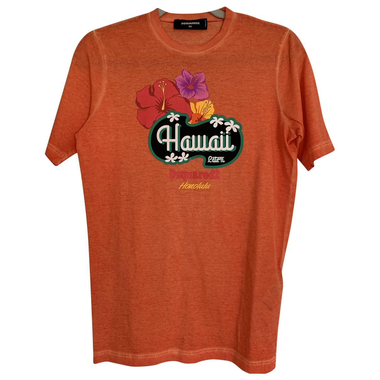 Dsquared2 - Top   pour femme en coton - orange