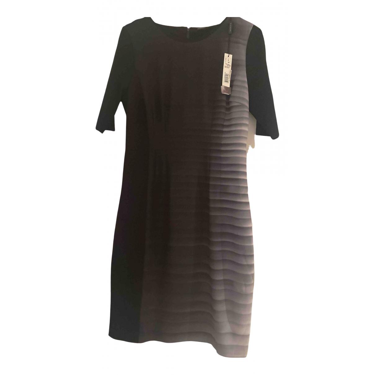 Elie Tahari \N Kleid in  Schwarz Baumwolle - Elasthan