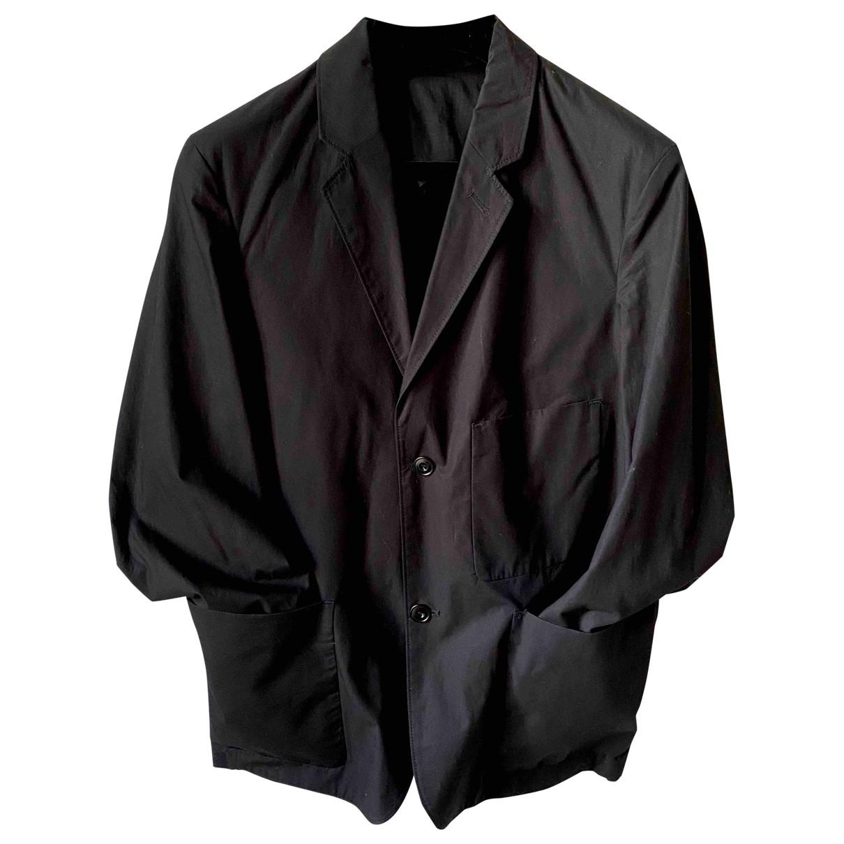 Lemaire - Vestes.Blousons   pour homme en coton - noir